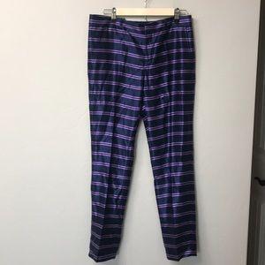 Banana Republic Ryan striped pants size 6. NWT
